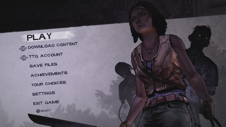 The Walking Dead: Michonne (Xbox 360)