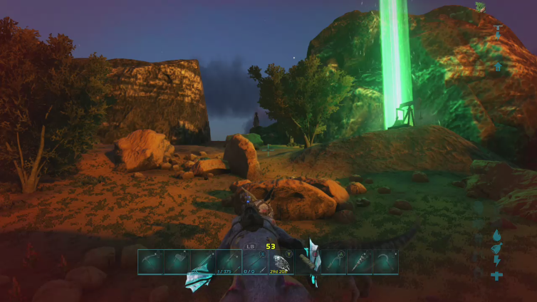 WiteSlice playing ARK: Survival Evolved