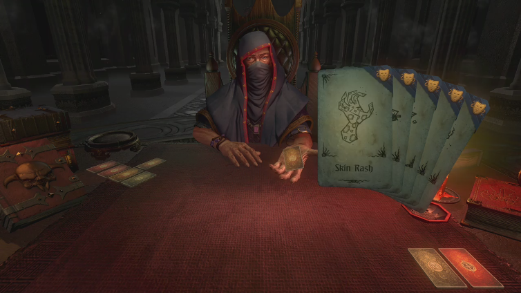 Smelly O Mally playing Hand of Fate