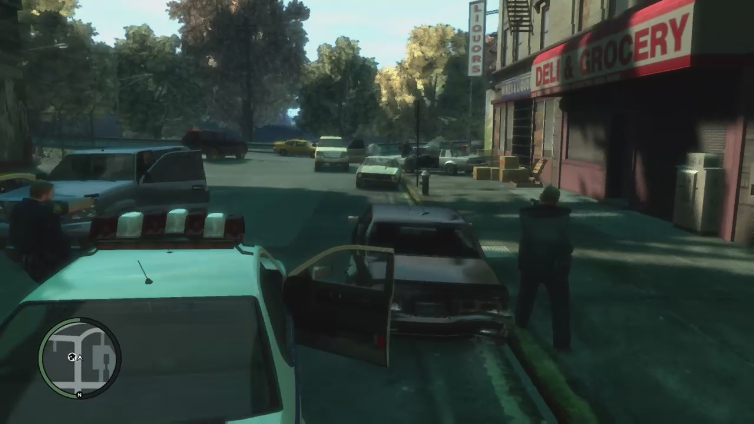 BeastCliffy playing Grand Theft Auto IV
